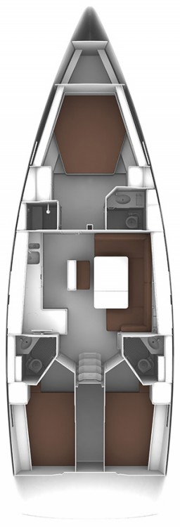 Location bateau Bavaria Bavaria Cruiser 46 - 3 cab. à Procida sur Samboat
