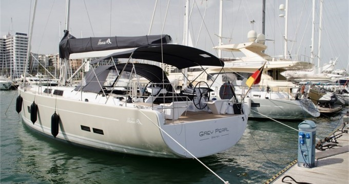 Alquiler de yate Marina Naviera Balear - Hanse Hanse 575 - 4 + 1 cab. en SamBoat
