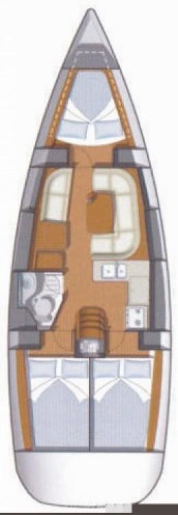 Boat rental Jeanneau Sun Odyssey 36i in Lefkas on Samboat