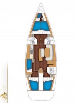 Location bateau Bénéteau Oceanis 50 Family - 6 cab. à Laurion sur Samboat
