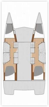 Rental Catamaran in Zadar - Fountaine Pajot Fountaine Pajot Lucia 40