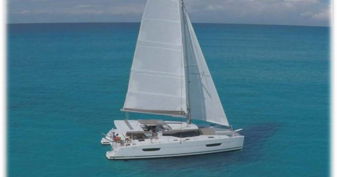 Fountaine Pajot Fountaine Pajot Lucia 40 between personal and professional Zadar