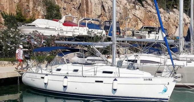 Location yacht à Krvavica - Bénéteau Oceanis Clipper 331 sur SamBoat