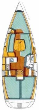 Location bateau Bénéteau Oceanis Clipper 331 à Krvavica sur Samboat
