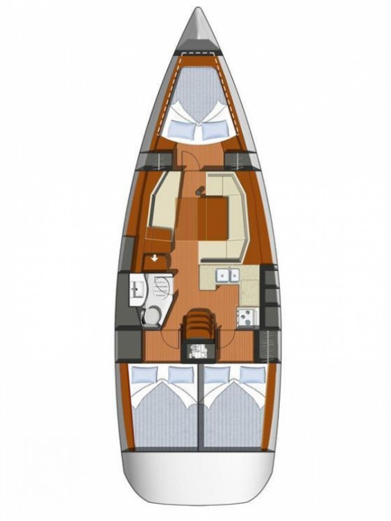 Hire Sailboat with or without skipper Jeanneau Krvavica
