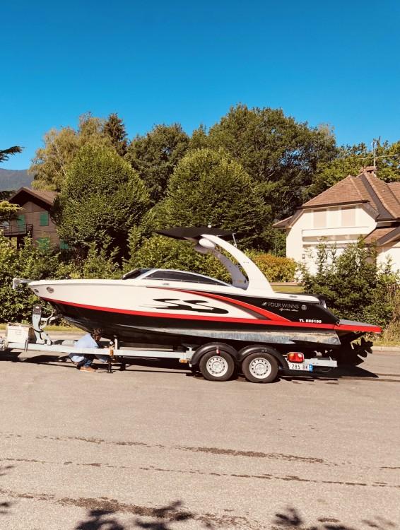 Verhuur Motorboot in Saint-Cloud - Four Winns H 210 SS