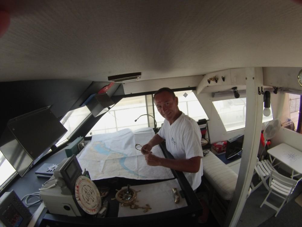 Louer Bateau à moteur avec ou sans skipper Guy Couach à Valras-Plage