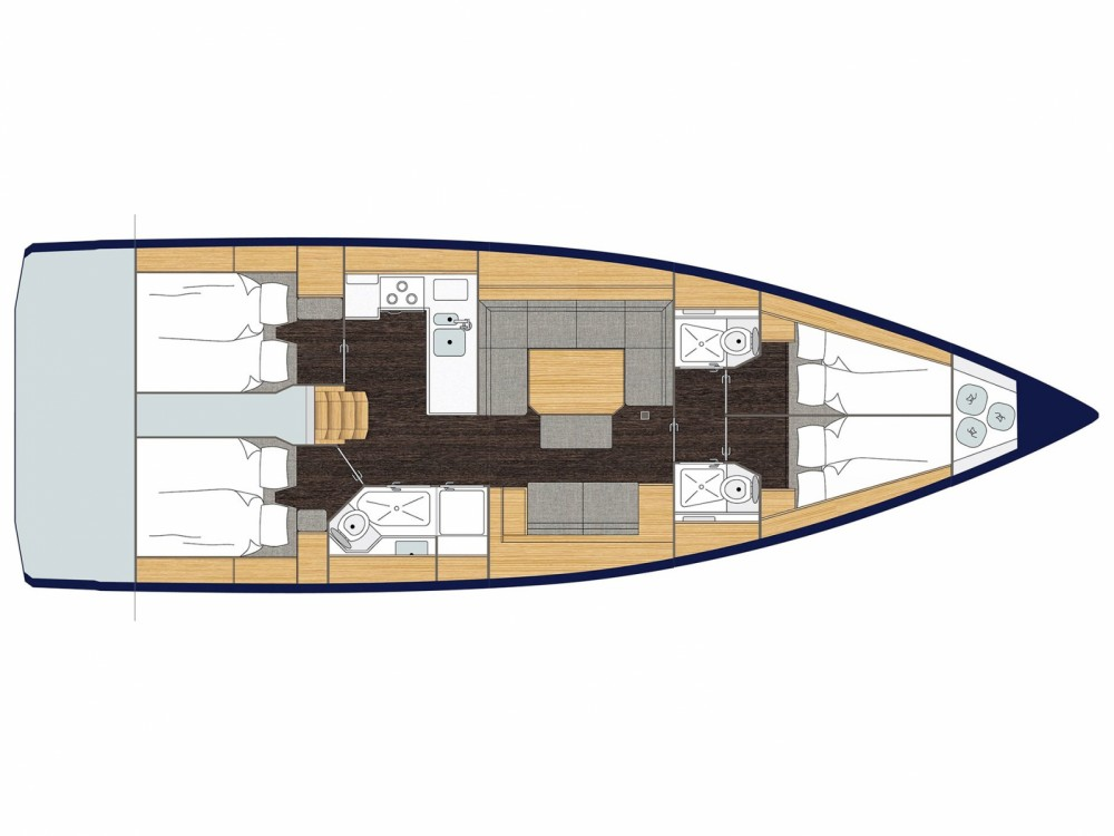 Bootsverleih Marina de Cascais günstig Bavaria C45