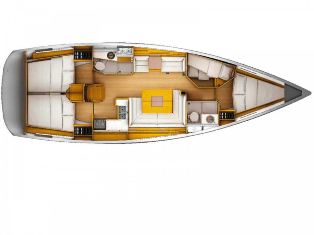 Alquiler de barcos Tivat barato de Sun Odyssey 439