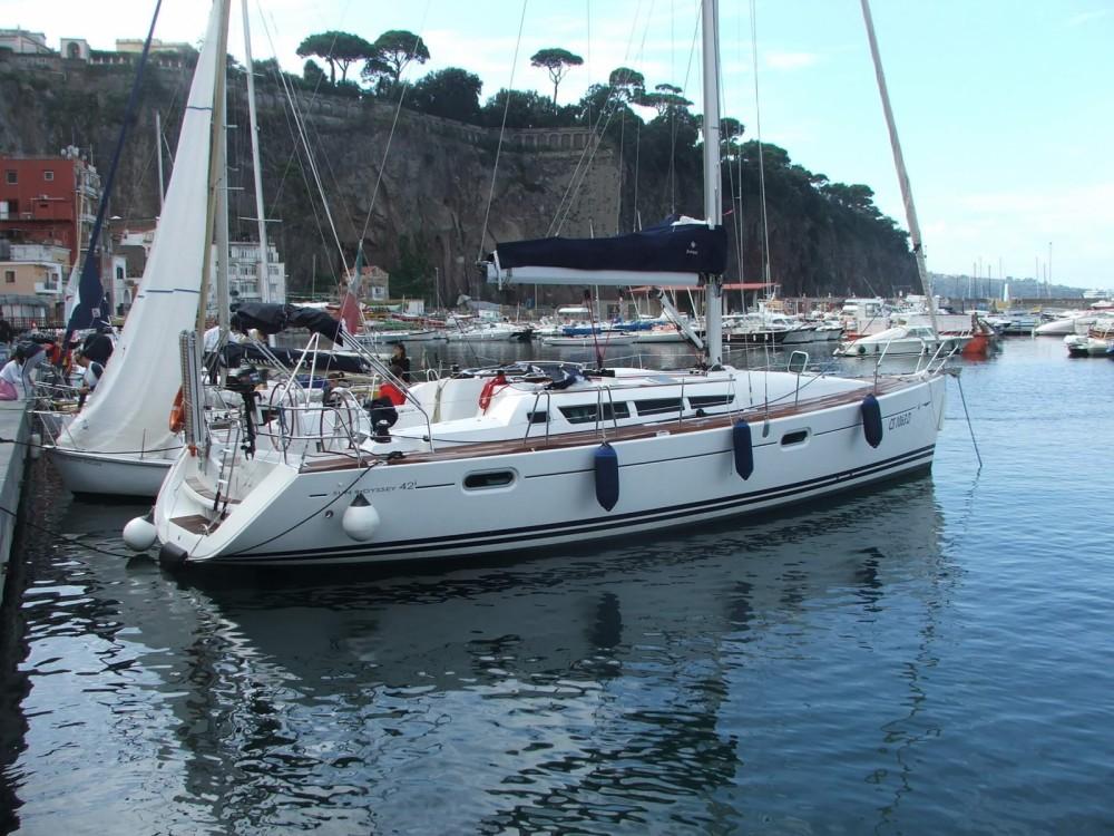 Location yacht à Castellammare di Stabia - Jeanneau Sun Odyssey 42 i sur SamBoat