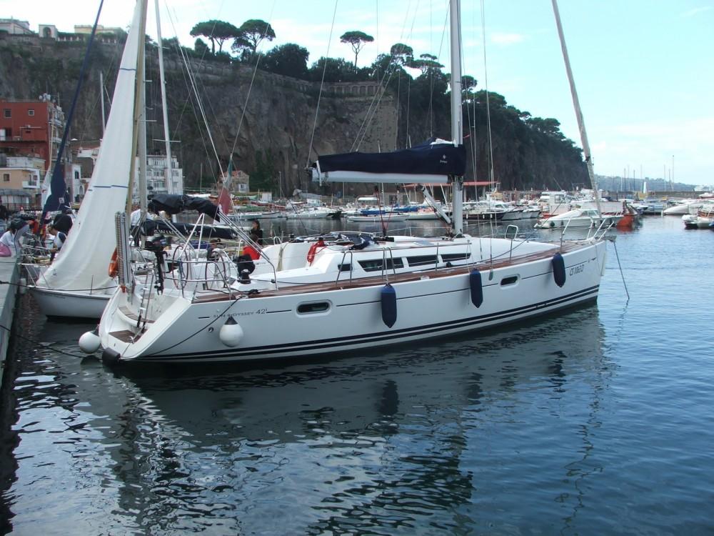 Louer Voilier avec ou sans skipper Jeanneau à Castellammare di Stabia
