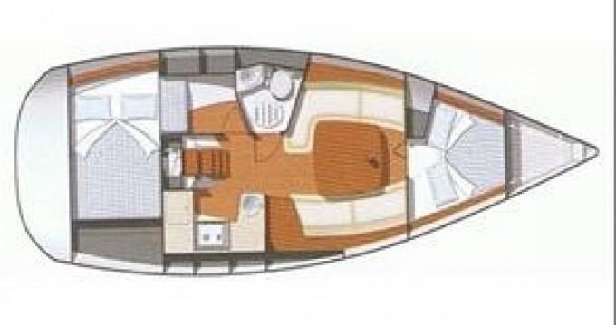 Location bateau Jeanneau Sun Odyssey 32 i à Lávrio sur Samboat