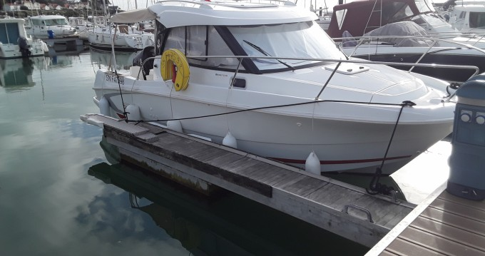 Location bateau Pornic pas cher Antares 780 HB