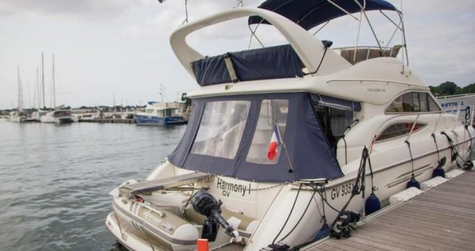 Location bateau Princess Princess 45 Fly à Port-la-Forêt sur Samboat