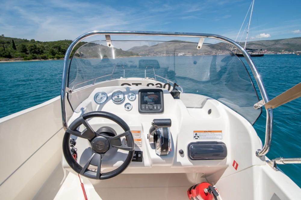 Verhuur Motorboot in Trogir - Quicksilver Activ 455 Open