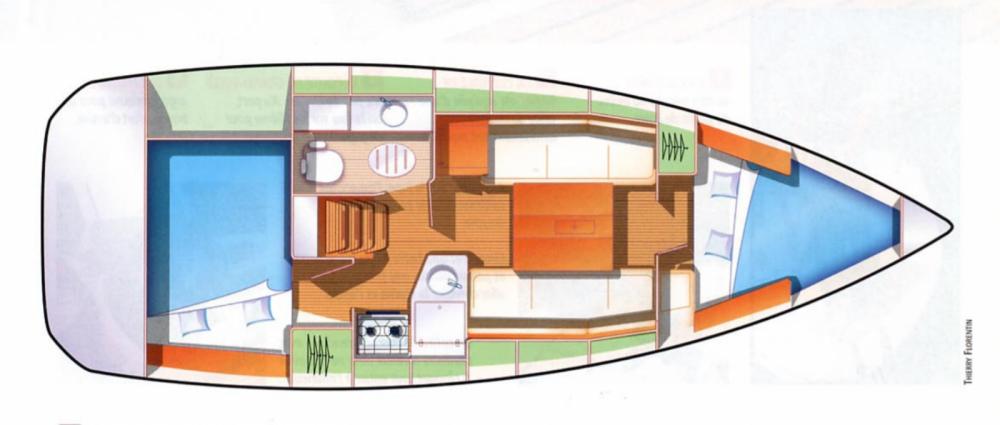 Location yacht à Locmiquélic - Jeanneau Sun Odyssey 30i sur SamBoat
