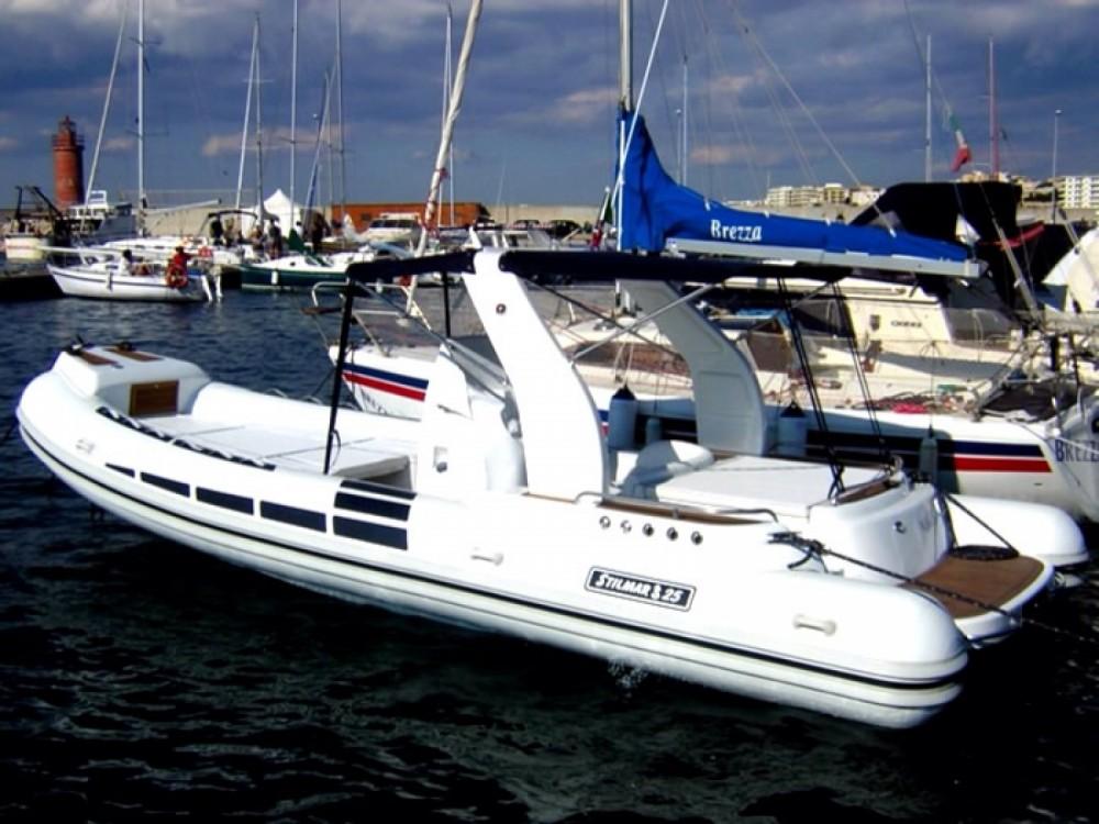 Stilmar  25EFB tra personale e professionale Otranto