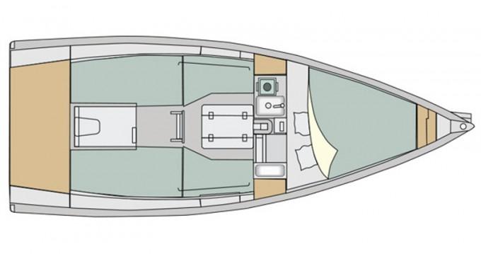 Rental Sailboat in Izola / Isola - Elan Elan 210