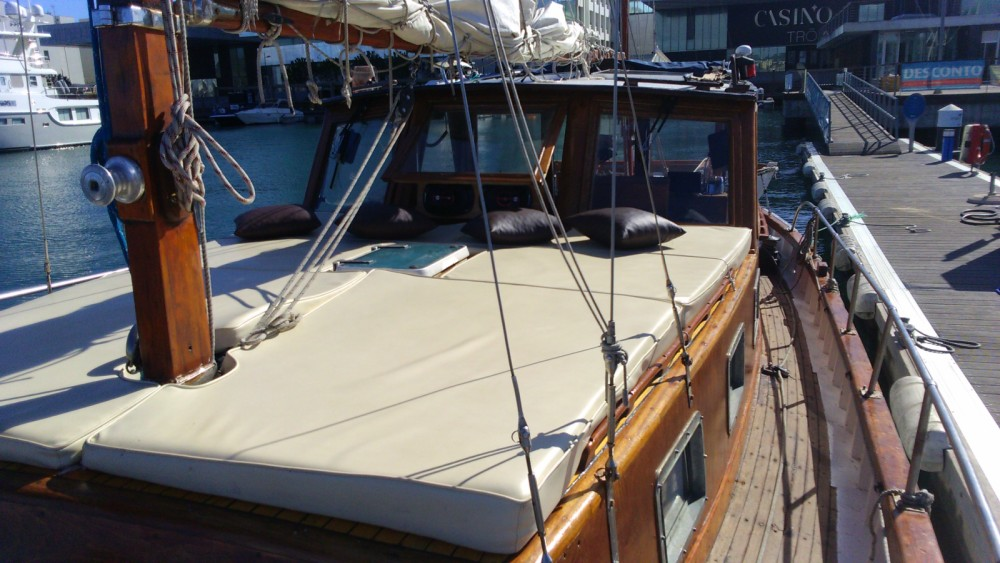 Rental Sailboat Mallorquina  with a permit