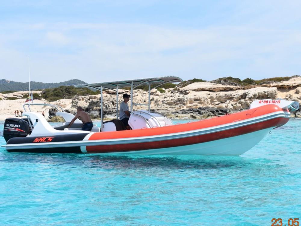 Alquiler de barcos Ibiza barato de Samurai 875