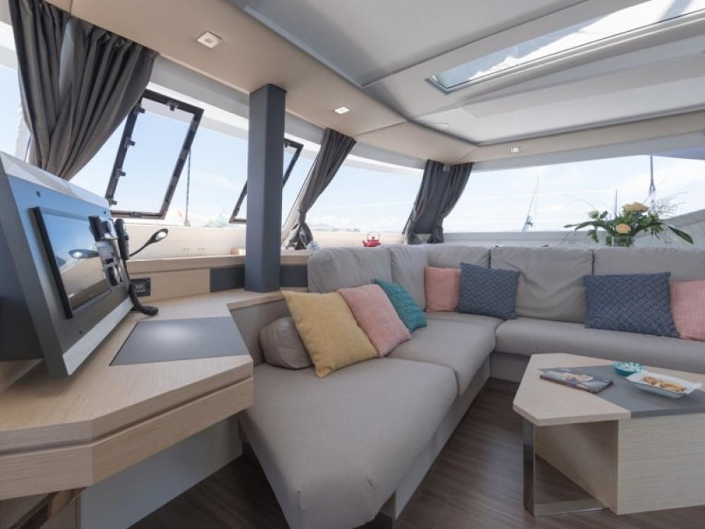 Location yacht à Sant Antoni de Portmany - Fountaine Pajot Saona 47 sur SamBoat