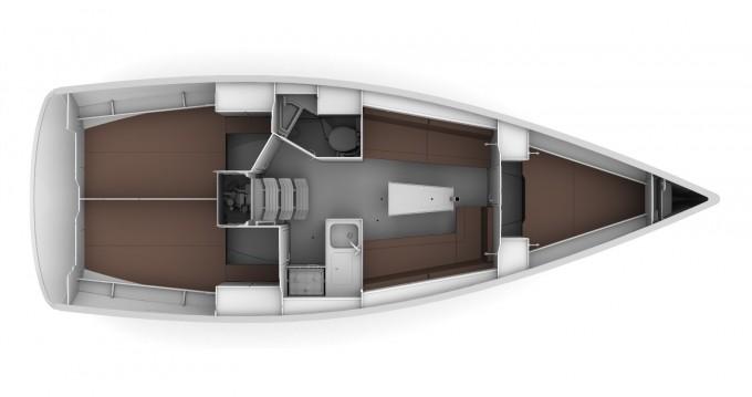 Location Voilier à Izola / Isola - Bavaria Bavaria 34 Cruiser