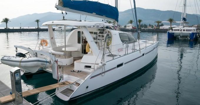 Location Catamaran à Tivat - Leopard Leopard 40