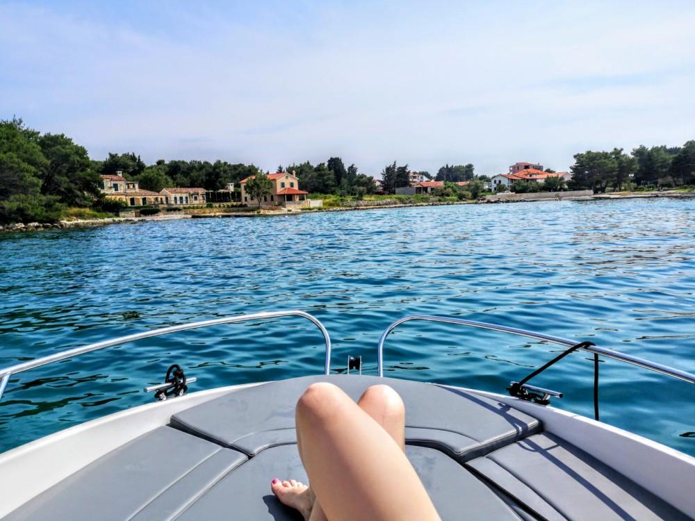 Location bateau Zadar pas cher Prince 570 Open