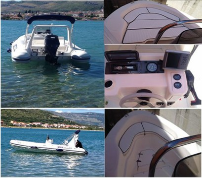 Louer Semi-rigide avec ou sans skipper Maestral à Trogir