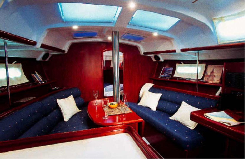 Boat rental ACI Marina Trogir cheap Oceanis 343