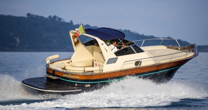 Boat rental Sorrento cheap Acquamarina 30