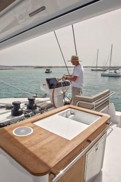 Location yacht à Sant Antoni de Portmany - Fountaine Pajot Victoria 67 sur SamBoat