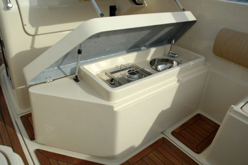 Boat rental Lefkas cheap Zeus26