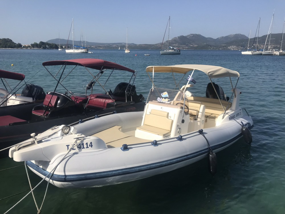 RIB for rent Peloponnese, West Greece and Ionian Sea at the best price