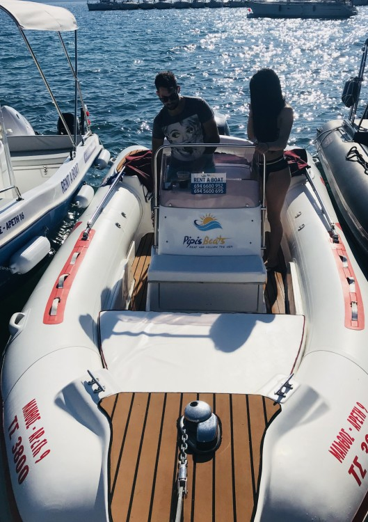 Hire RIB with or without skipper Vip Peloponnese, West Greece and Ionian Sea