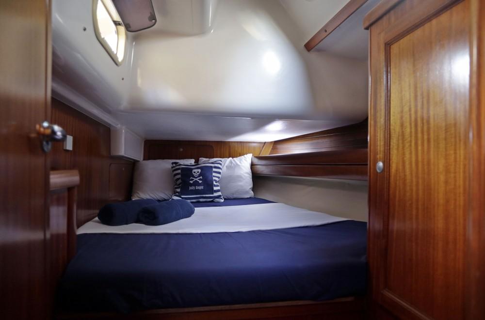 Boat rental Ibiza city cheap Dufour 43 Classic