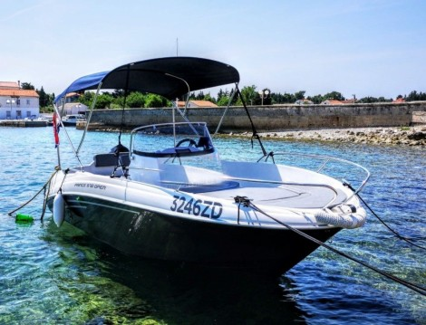 Alquiler de barcos Zadar barato de Prince 570 Open