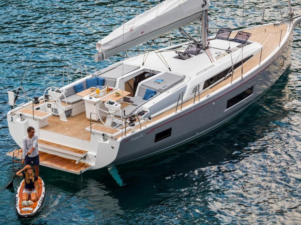 Rental Sailboat in Μαρίνα Αλίμου - Bénéteau Oceanis 46.1