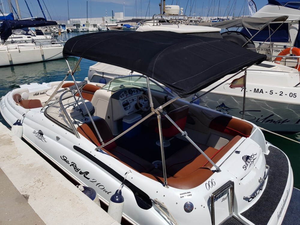 Hire Motor boat with or without skipper Sea Ray Fuengirola