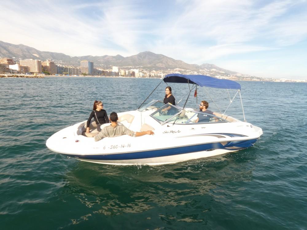 Bootverhuur Fuengirola goedkoop Sea Ray 210 Sundeck