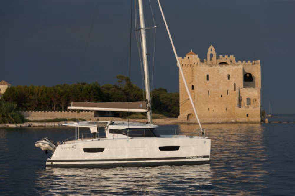 Rental Catamaran in Cannes - Fountaine Pajot Lucia 40