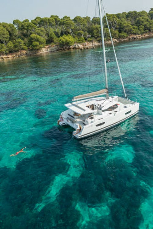 Boat rental Cannes cheap Lucia 40