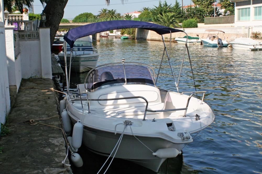 Location bateau Roses pas cher Everset 580 Open
