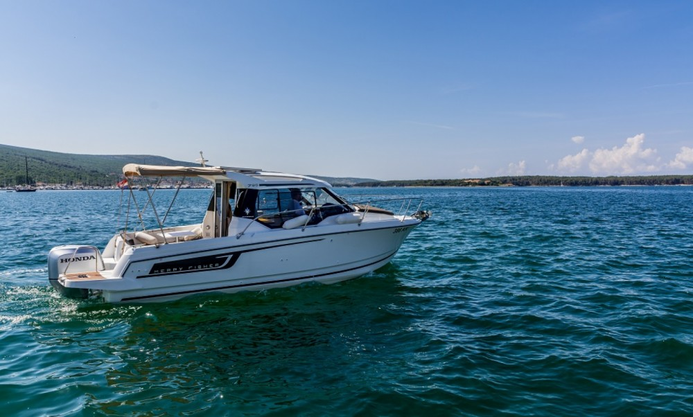 Boat rental Krk cheap Merry Fisher 795