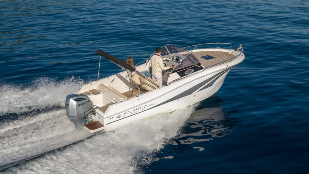 Rental Motor boat in Krk - Atlantic Atlantic 730 Sun Cruiser