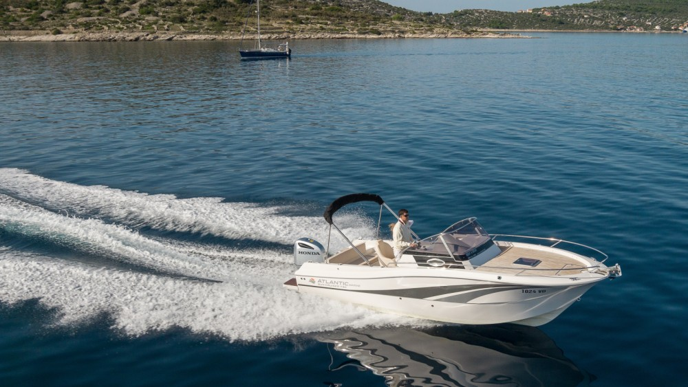 Boat rental Krk cheap Atlantic 730 Sun Cruiser