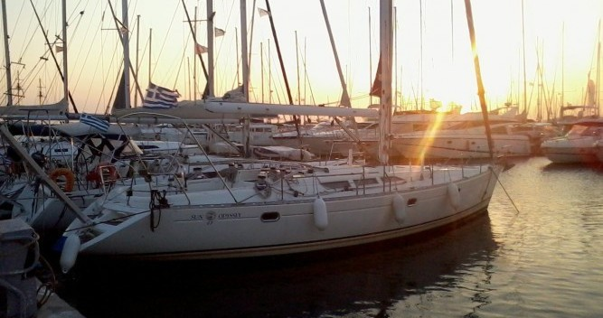 Location bateau Jeanneau Sun Odyssey 47 à Álimos sur Samboat