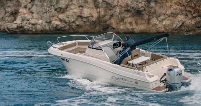 Location bateau Atlantic Atlantic 750 Open à Krk sur Samboat