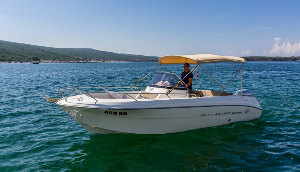 Hire Motor boat with or without skipper Atlantic Krk