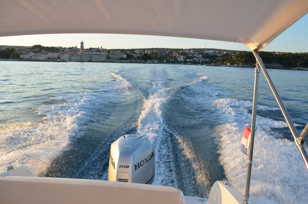 Rental Motor boat Atlantic with a permit